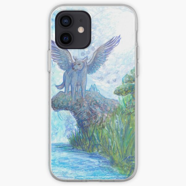 Winged Wolf iPhone Soft Case