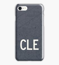 CLE Cleveland Airport Code Phone Case and Skin iPhone Case/Skin