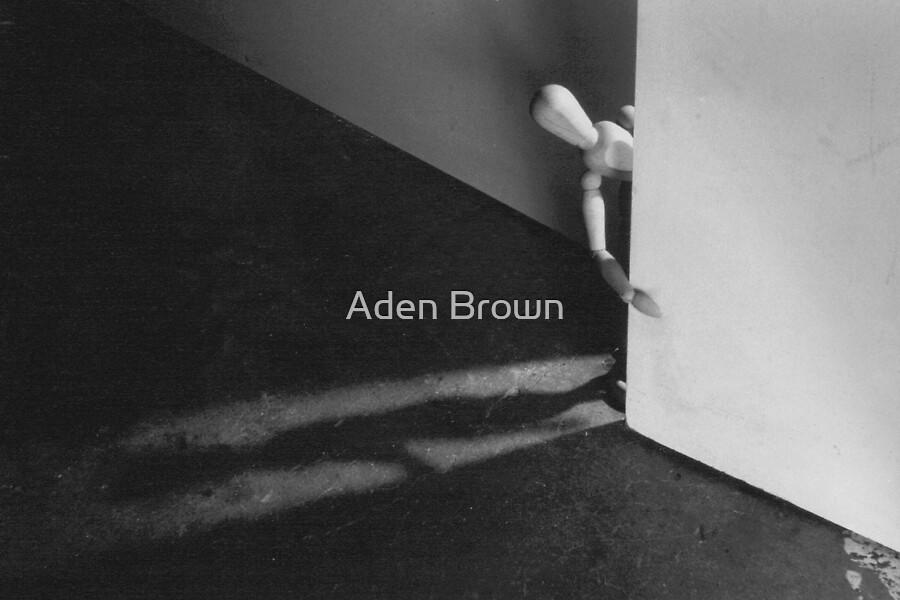 Behind The Door by Aden Brown
