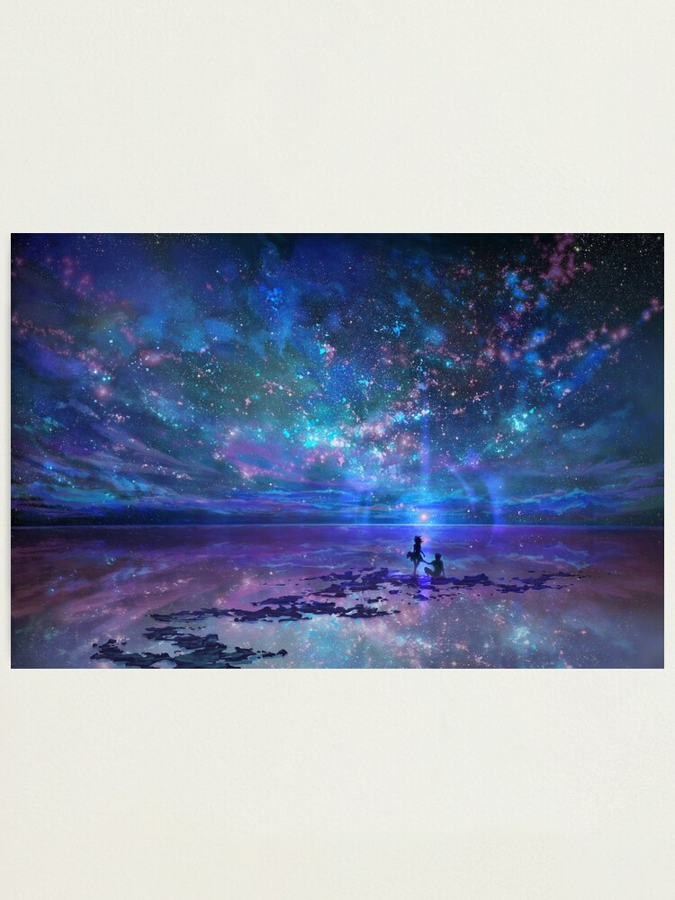 Alternate view of Ocean, Stars, Sky, and You Photographic Print