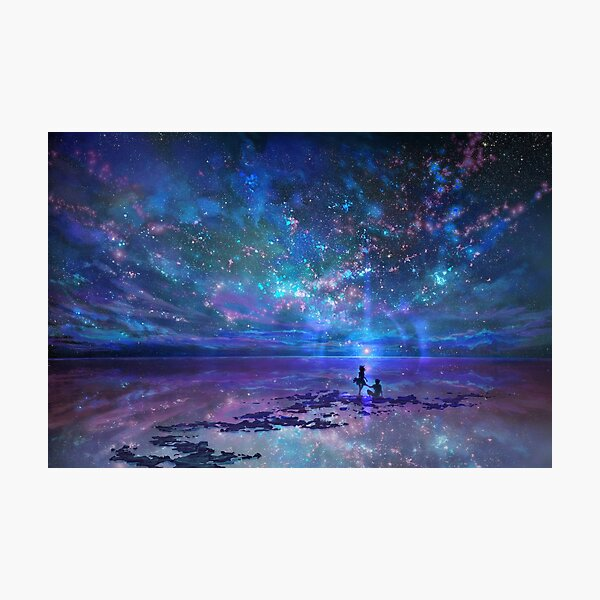 Ocean, Stars, Sky, and You Photographic Print