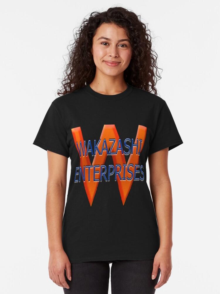 Alternate view of Wakazashi Enterprises  Classic T-Shirt