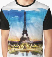 PARIS, France - Beautiful Earth [Custom Digital Artwork] Graphic T-Shirt