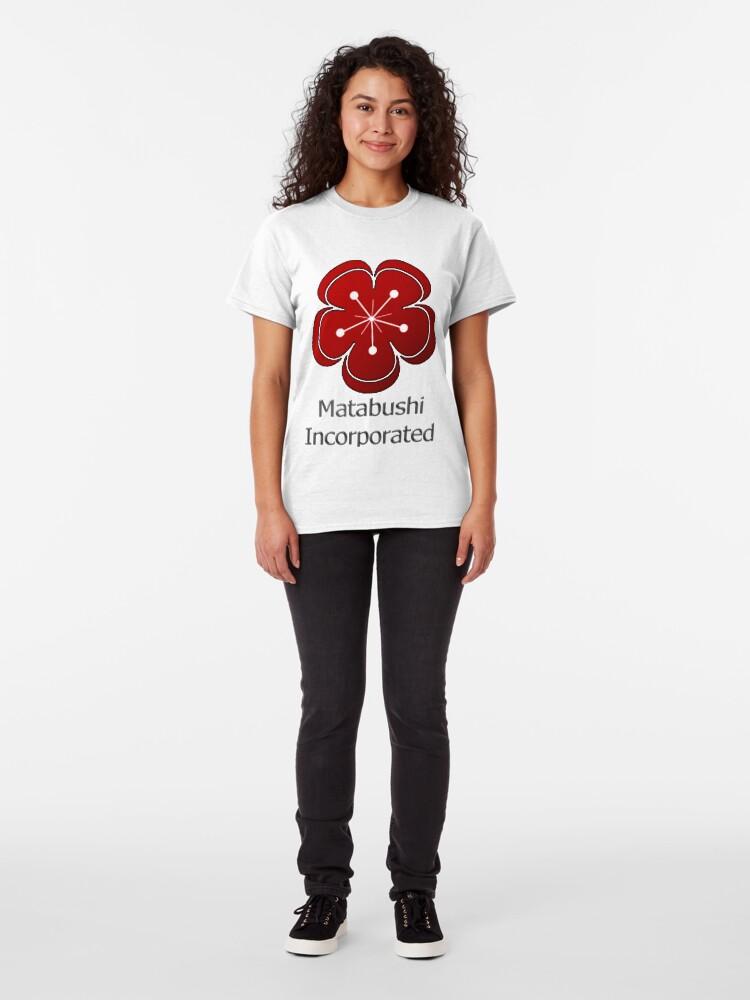 Alternate view of Matabushi Incorporated Classic T-Shirt