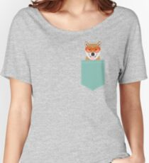Shiba Inu - Cute shiba inu gifts for dog lovers dog owner gifts ideas cute shiba inu puppies Women's Relaxed Fit T-Shirt