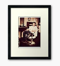 Jake Johnson - Actor Framed Print