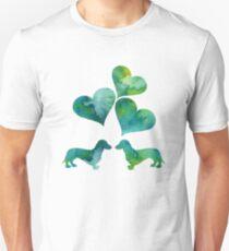 Dachshund Art Unisex T-Shirt