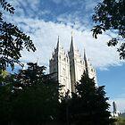 The Salt Lake Temple by SunriseRose