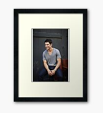 Max Greenfield - Actor Framed Print