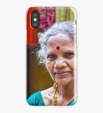 Flower Seller iPhone Case