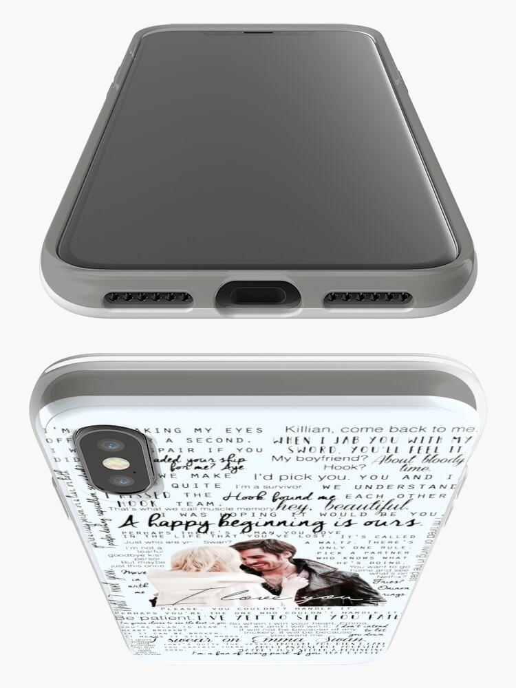 Alternate view of 57. CaptainSwan quotes (JEN HAS HELD ONE OF THESE CASES AT A CON) iPhone Case & Cover