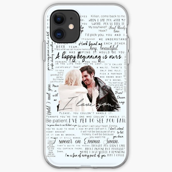 57. CaptainSwan quotes (JEN HAS HELD ONE OF THESE CASES AT A CON) iPhone Soft Case