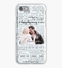 57. CaptainSwan quotes iPhone Case/Skin