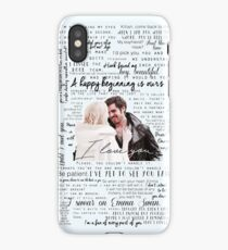 57. CaptainSwan quotes (JEN HAS HELD ONE OF THESE CASES AT A CON) iPhone Case/Skin