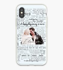 57. CaptainSwan quotes (JEN HAS HELD ONE OF THESE CASES AT A CON) iPhone Case