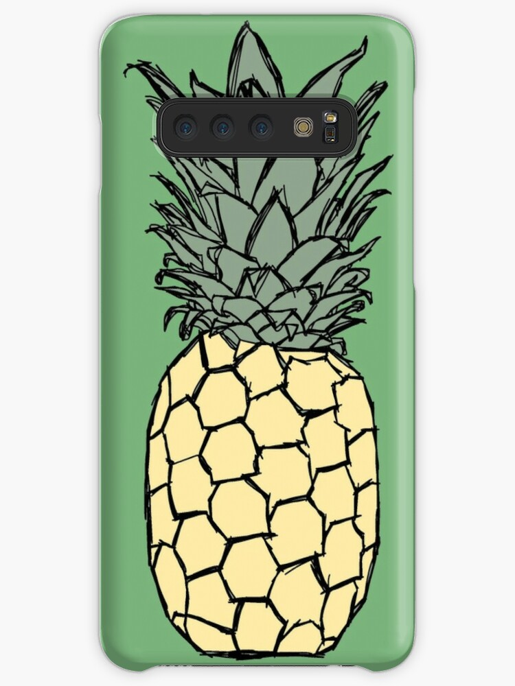 652c46d73999 Aesthetic Pastel Colored Scribbled Pineapple