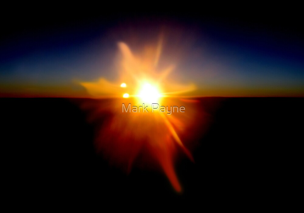 Sunset Surprise ! by Mark Payne