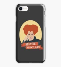 Resting Witch Face- Hocus Pocus iPhone Case/Skin