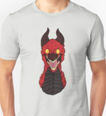 Angry Red Traditional Dragon T-Shirt