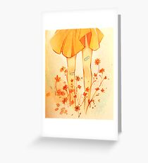 Summer's Touch Greeting Card