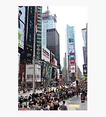 Times Square NY Photographic Print