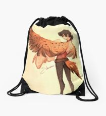 Birb Keef Drawstring Bag