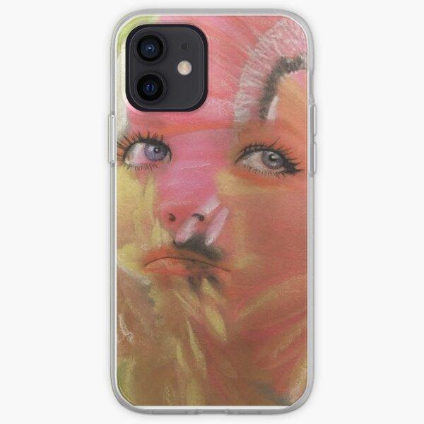 Flower Child Flower Fashion Art iPhone Soft Case