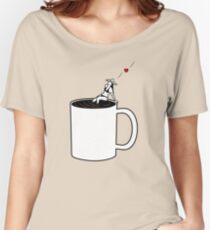 Love Coffee Women's Relaxed Fit T-Shirt