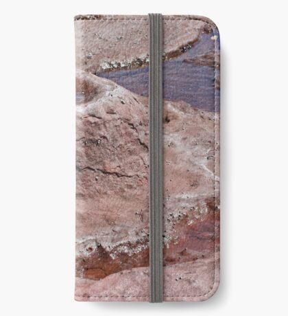 Felsformation iPhone Flip-Case