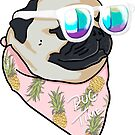 «Pug Summer Time» de Lostanaw