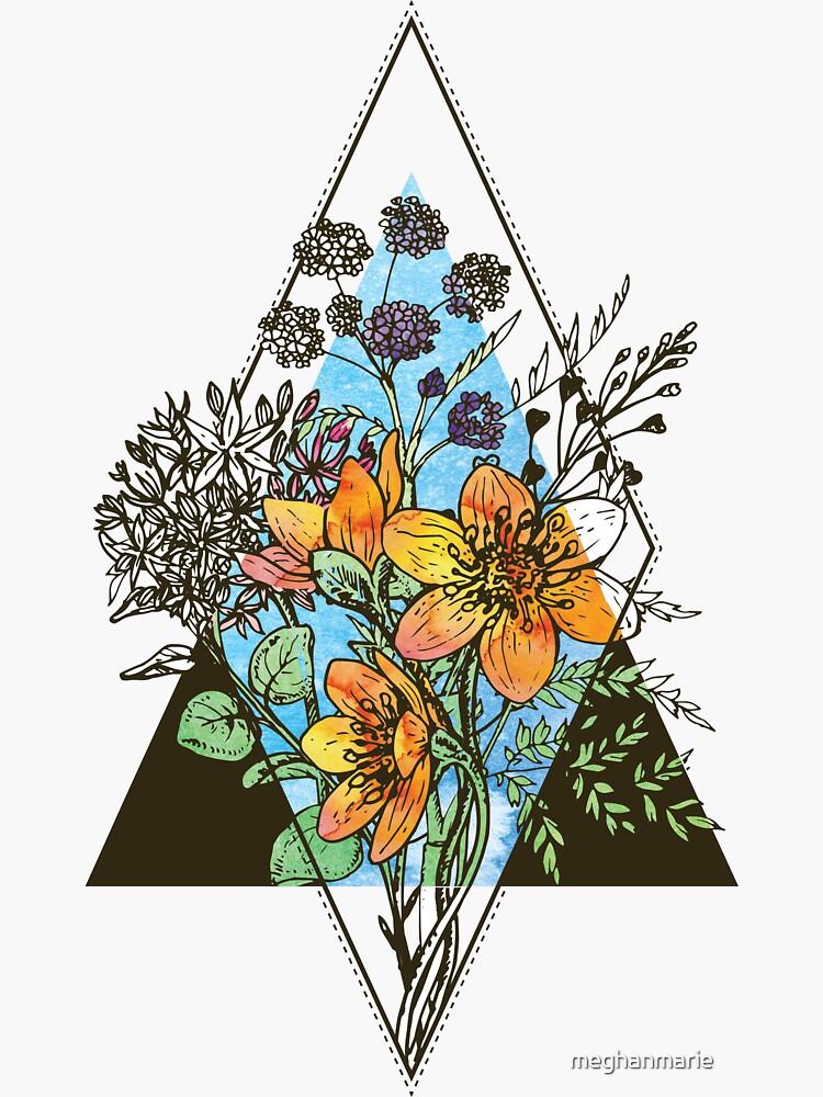 Geometric Bouquet  by meghanmarie