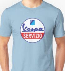 Vespa Servizio  Unisex T-Shirt
