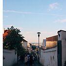 Stadtstraßen von Prag von stockholm