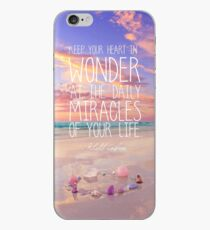 Keep Your Heart In Wonder iPhone Case