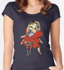 Major on Fuchikoma Women's Fitted Scoop T-Shirt