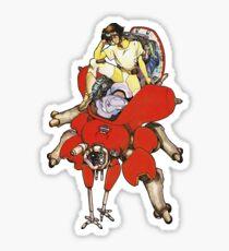 Major on Fuchikoma Sticker