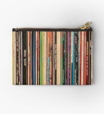 Classic Alternative Rock Records Zipper Pouch