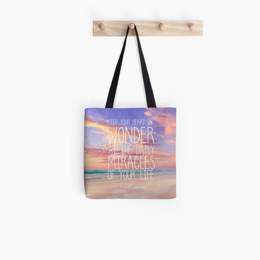 Keep Your Heart In Wonder Tote Bag