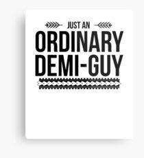 Just an Ordinary Demi Guy Metal Print