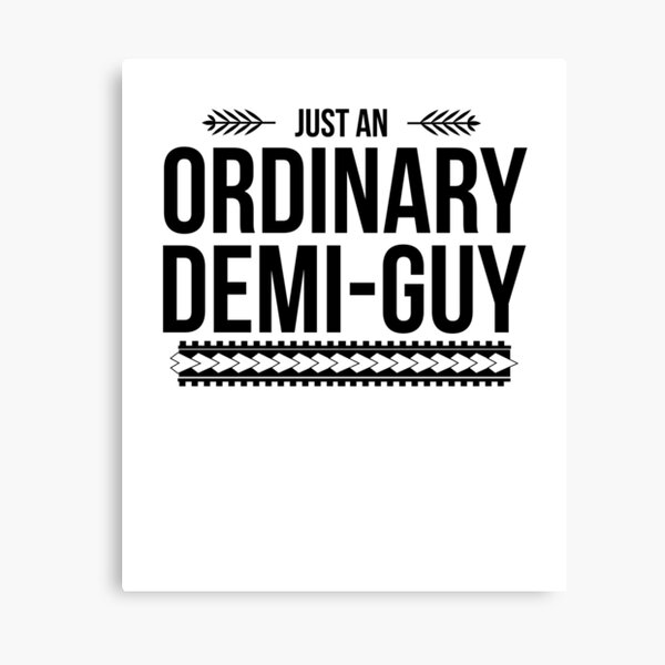 Just an Ordinary Demi Guy Canvas Print