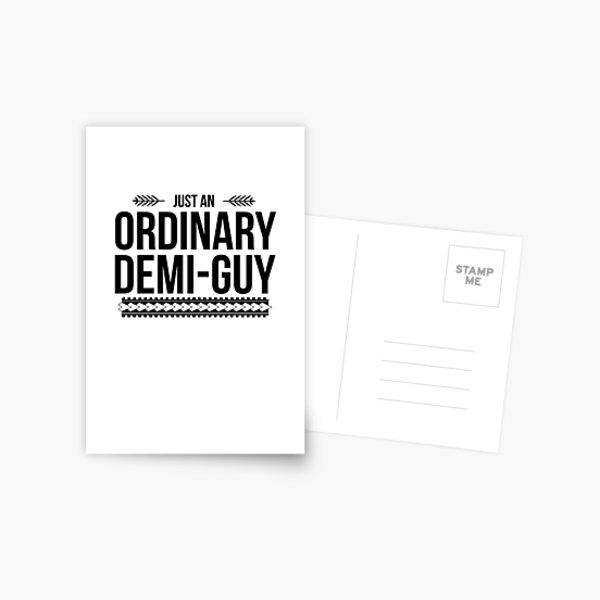 Just an Ordinary Demi Guy Postcard