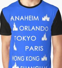 My Cities - Colored Graphic T-Shirt