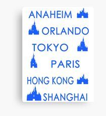 My Cities Canvas Print