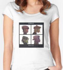 Gorillaz: Demon Days Women's Fitted Scoop T-Shirt