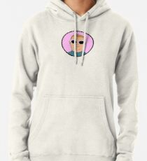 Bobby Hill Oval Sunglasses Pullover Hoodie