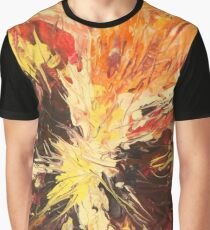 Flower Close Up Graphic T-Shirt
