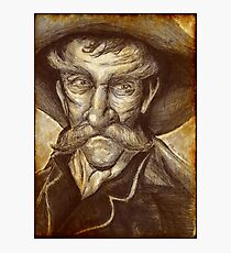 Old Cowboy Photographic Print