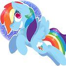 Rainbow dash by Violetpool