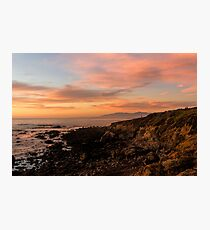 Pastels Photographic Print