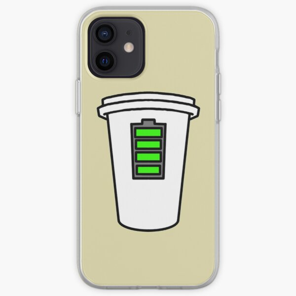 Coffee = Human Charger  iPhone Soft Case